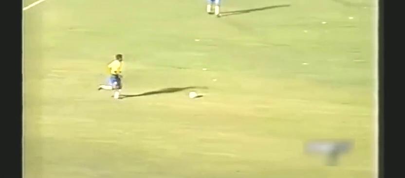 巨星记忆:罗纳尔多国家队首秀 1994热身赛巴西VS阿根廷