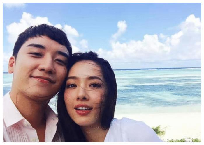 李胜利和郭碧婷接吻视频流出,脸贴脸海边合照,宛如一对小情侣!