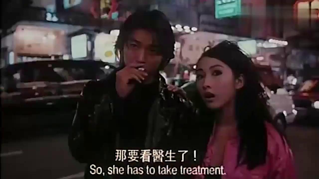 古惑仔:陈浩南等人戏耍小结巴,深山老林逗笑众人
