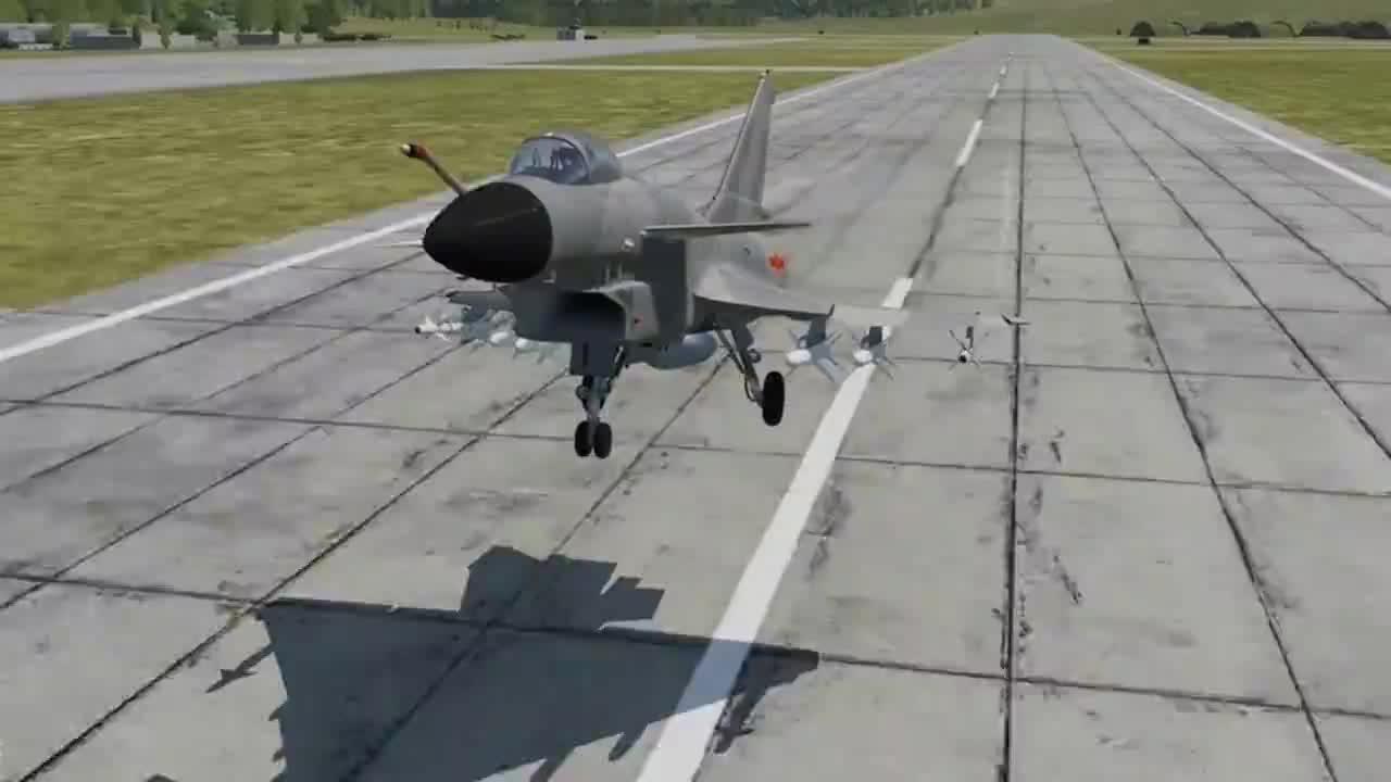 游戏模拟一架歼10穿越到二战期间遭遇12架零式战斗机结果