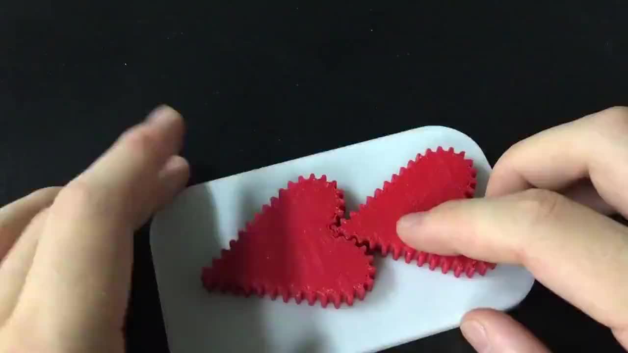 世界首款心形齿轮问世契合度堪称完美这个车床技术太厉害