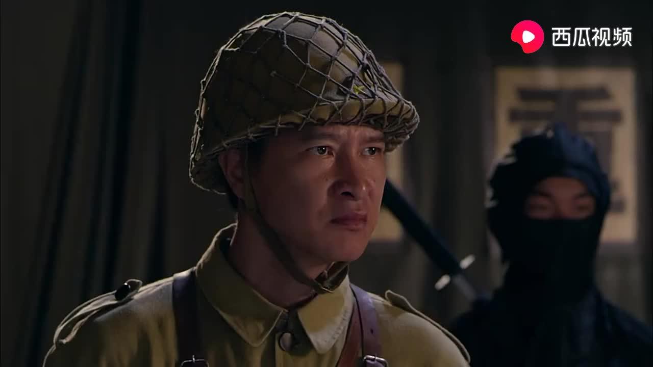 日军忍者中埋伏,大刀对付东洋刀
