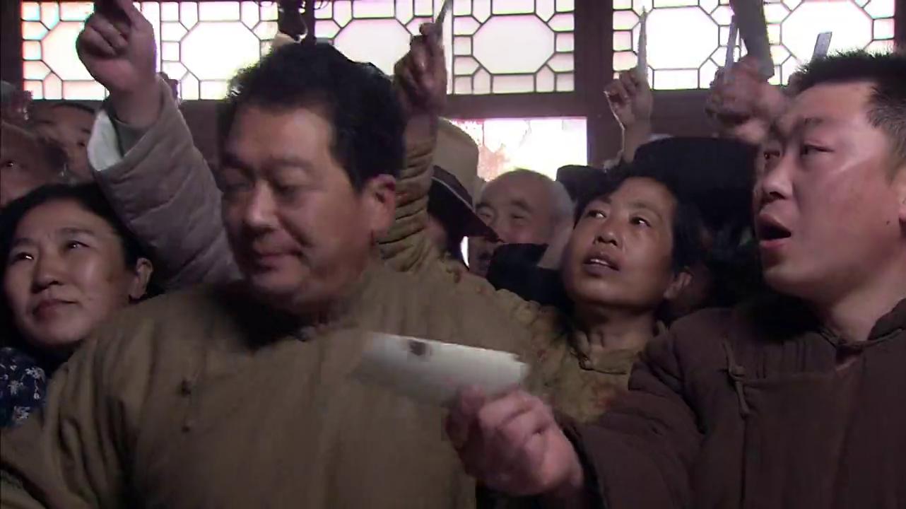 杨德利打算通过印制当滴水观音使恒泰店战胜同德店,被杨德龙击败