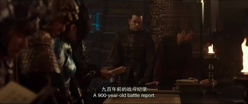 《长城》中莫名出现的外语真的是很尴尬呀莫名出戏