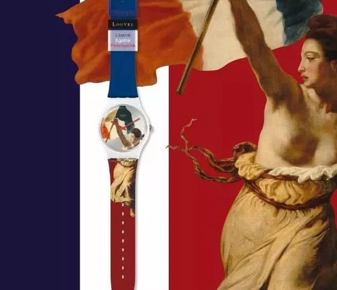 SWATCH对卢浮宫出手了,想把世界名画印在手上