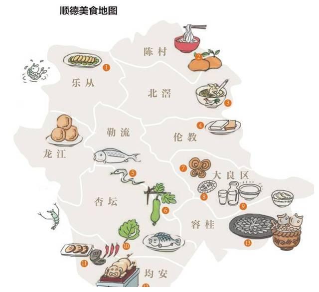 顺德菜以丰富多样的制作物料著称,以博取众长的烹饪技艺见长,以