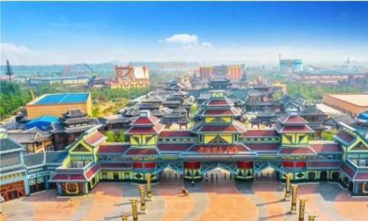 邯郸方特国色春秋主题乐园已完工 下月1日正式开园运营