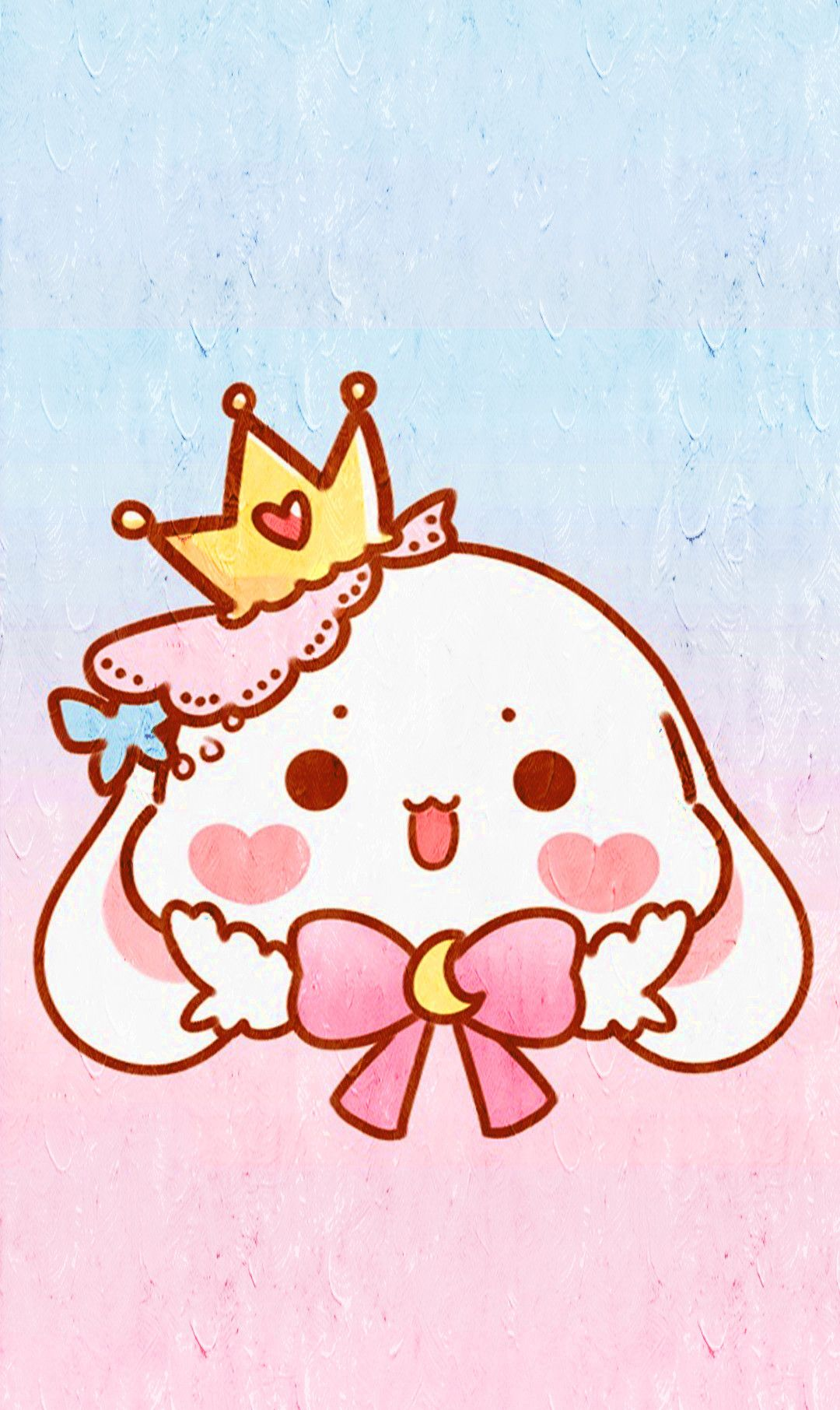 动漫壁纸:超可爱萌系卡通手机壁纸,毛茸茸的小兔子喜欢吗?