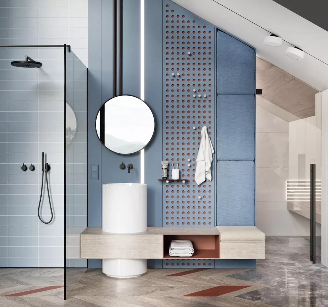 装修公司|瓷砖、墙面、洁具选的好,卫生间不要太美!
