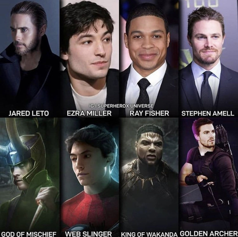 假如漫威和DC主演对调会是什么样的画面,先来找找闪电侠