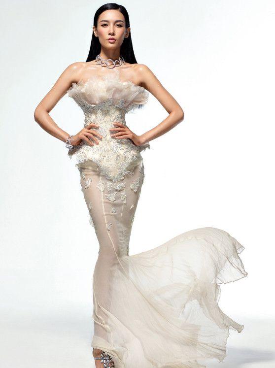 模特身材,长腿女神——张蓝心