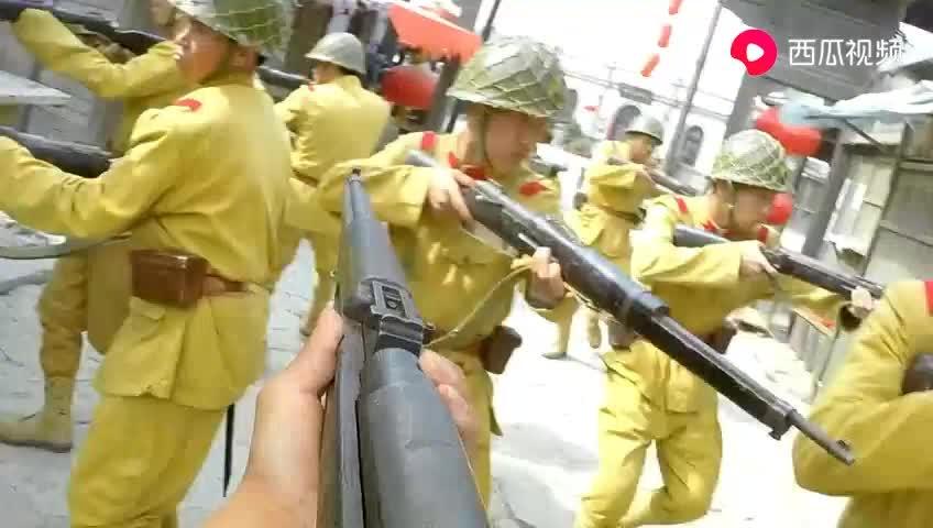 1000日军进入村子全部被杀,太过瘾了