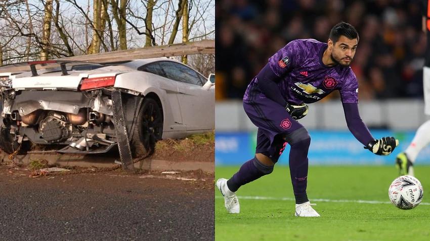 曼联守门员阿贾克斯罗梅罗卷入车祸