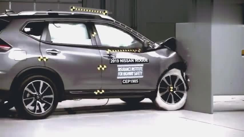 日系车真的不结实吗?看看日产奇骏IIHS最新碰撞测试后你就知道了