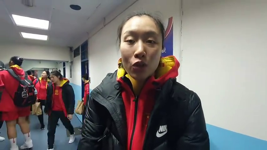 中国女篮邵婷WCBA表示刚开始也没想到能赢对手