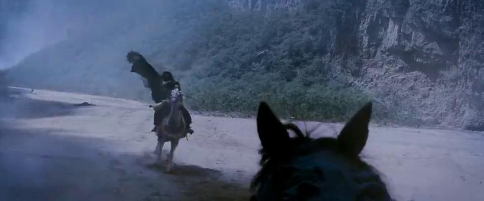 画皮:靖公主秒杀敌军,霸气离开,不料尸体发生惊悚一幕