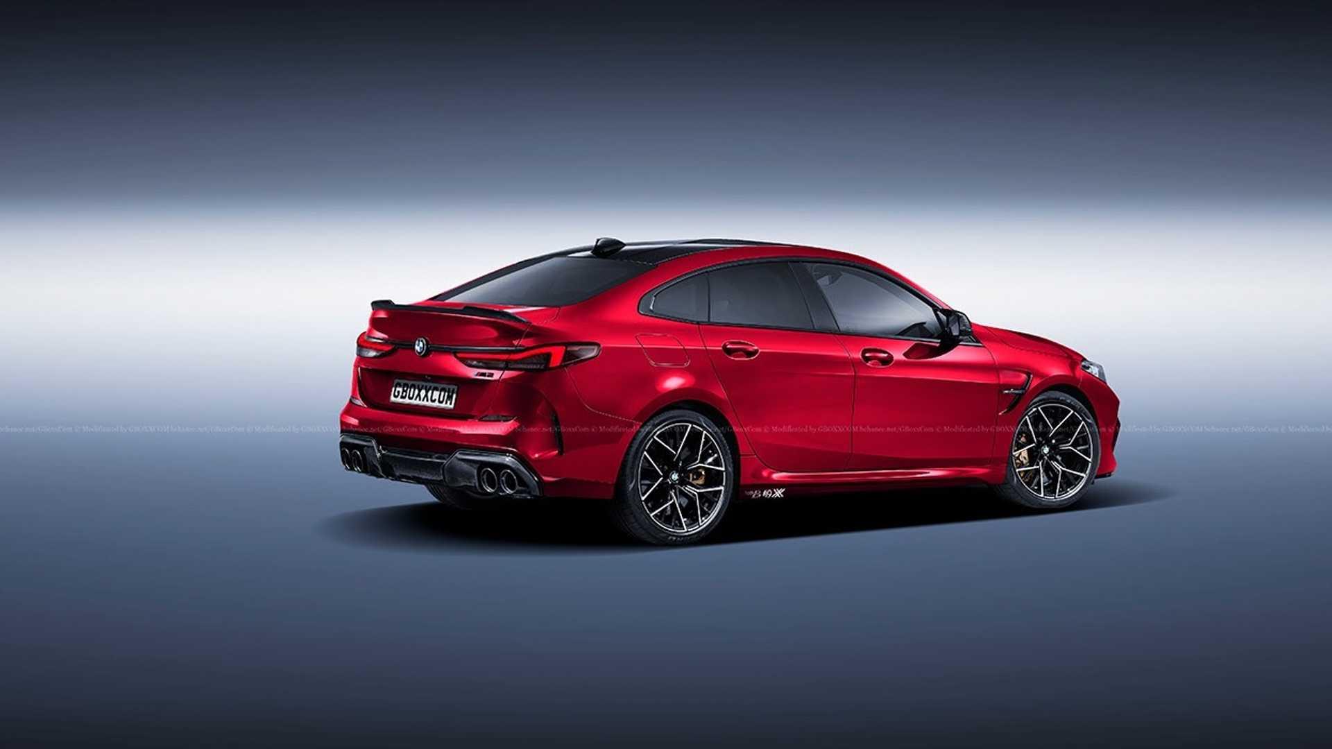 宝马M2 Gran Coupe渲染图发布,又一款性能车即将诞生?