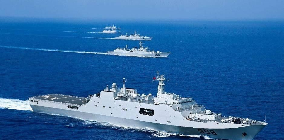 071型船坞登陆舰:装备数量已达8艘,极大提升我海军两栖作战能力