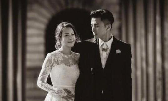 TVB演员陈山聪婚纱照撞脸谢霆锋林心如,男方曾为了赌王千金抛弃