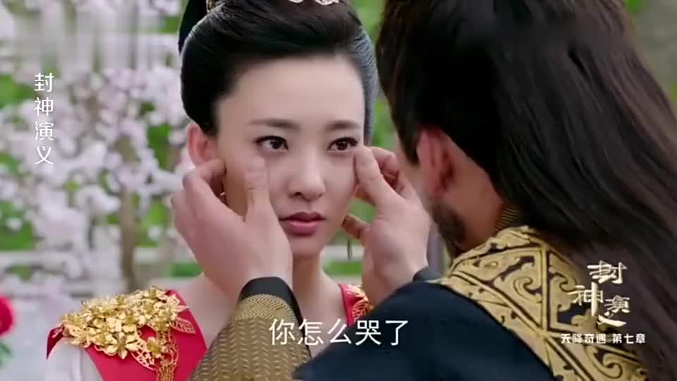 妲己住进先王太后的寿仙宫大臣一看花朵吓一跳鲜花竟在流血泪