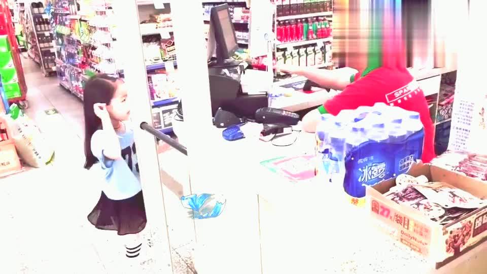 Amy锻炼宝贝自立能力,让他自己在超市买东西,效果相当不错!