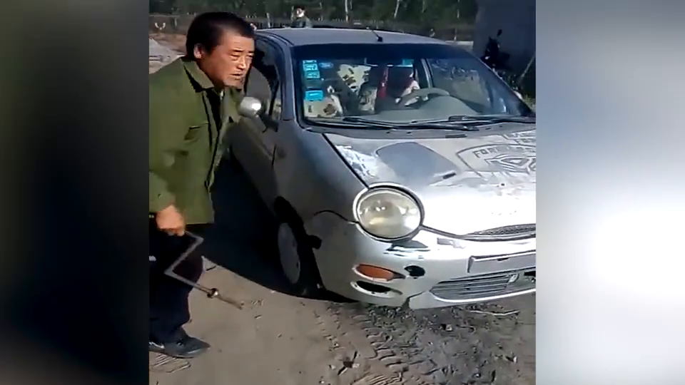 视频:国内牛人改装奇瑞QQ柴油机版,常柴机器代替汽车发动机
