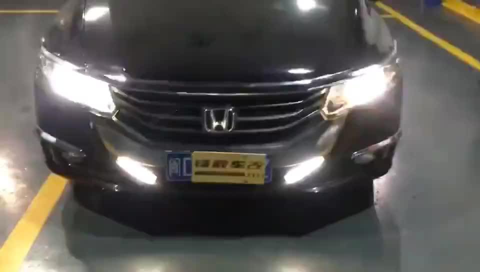 视频:灯光升级广州本田奥德赛原车卤素灯光升级海拉五双光透镜套装