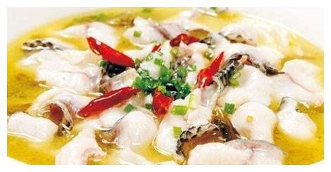 重庆招牌美食酸菜鱼,酸菜,酸辣鲜香农村家常菜自然美味