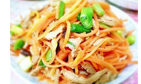 橙子皮炒肉丝,橙子的香味,还伴有肉的香味一道简单美味的家常菜
