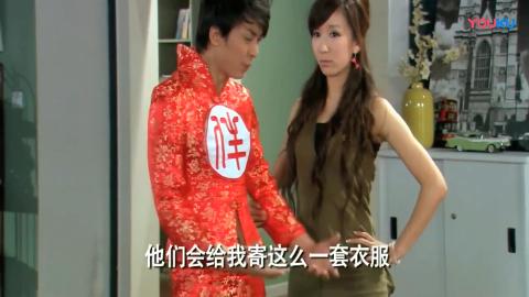 """爱情公寓:看着张伟穿""""伴娘服"""",小贤和子乔直接实力吐槽"""