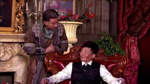 郭京飞说了一堆鸟语,恭叔在线翻译,连神情语态都一模一样