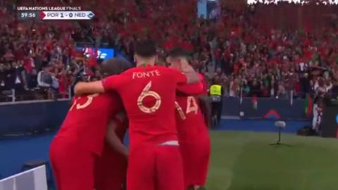 葡萄牙夺得首届欧洲国家联赛 冠军