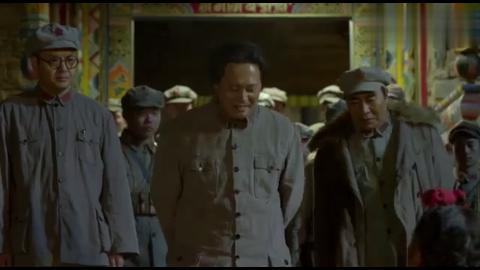 长征大会师:藏民包围红军,正准备发动进攻,不料发现竟是毛主席