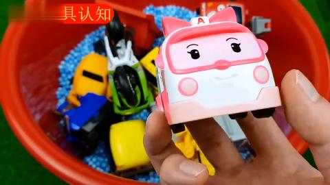 儿童玩具启蒙认知直升飞机校车救护车推土机汪汪队消防车