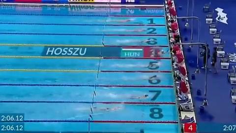 光州游泳世锦赛:叶诗文又回来了,竟在女子200米夺得第二名