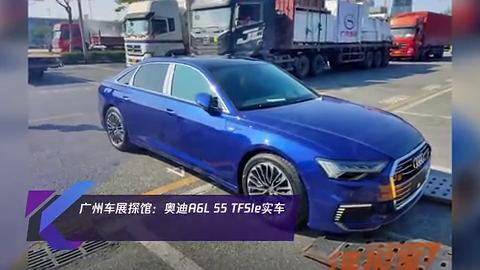 视频:广州车展探馆奥迪A6L55TFSIe实车