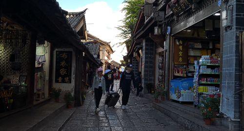 每一个丽江古巷都是一首诗、一幅画、一段精美的传说