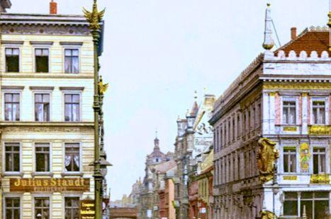 老照片:俾斯麦下台时的德国,多彩纷呈的建筑