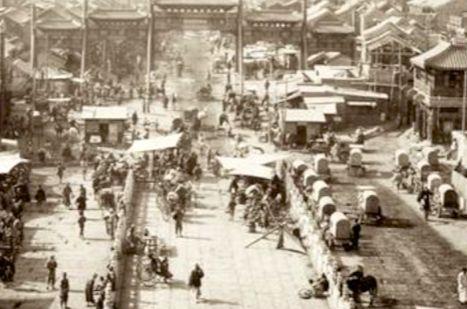 老照片:伦敦苏富比拍品,清末民初的北京风景