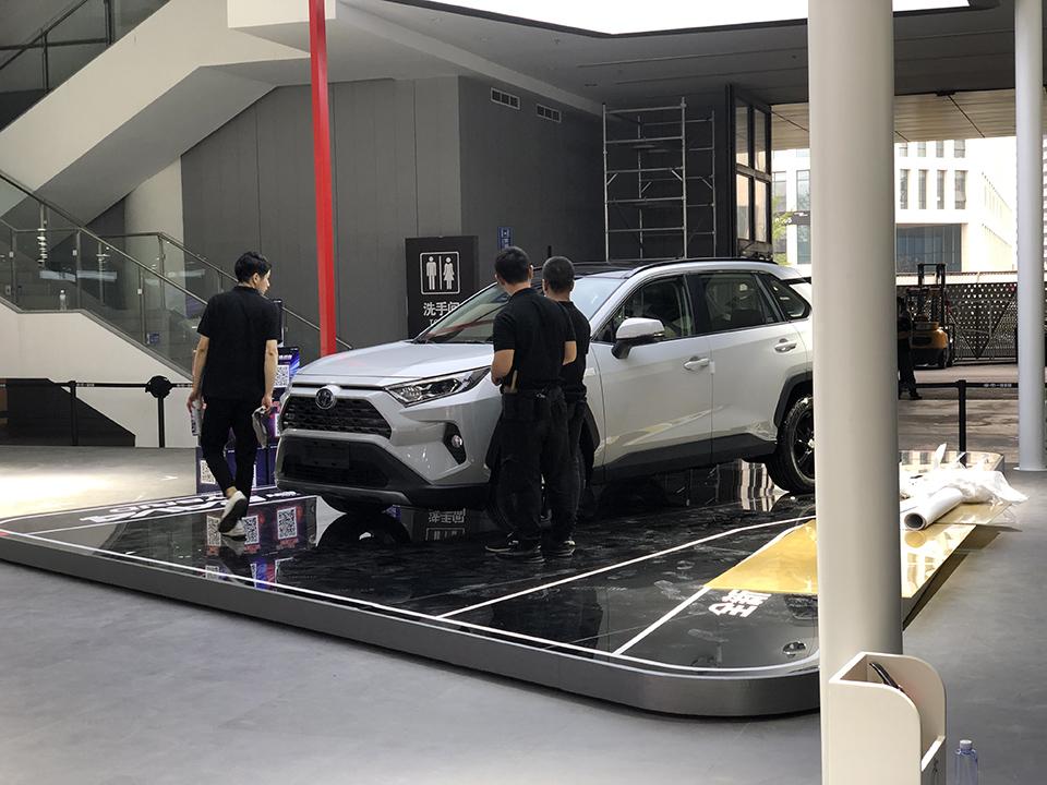 菲林公路2019成都车展报道一丰全新RAV4