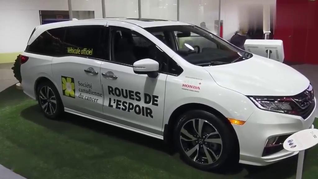 视频:2020款本田奥德赛车展实拍