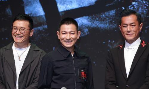 刘德华现身《扫毒2》发布会,一脸憔悴,恐腰伤复发!
