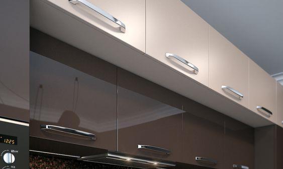 说实话,厨房这样装才更好用!吊柜设计灯带,柜体改成隔板,实用