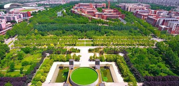 这个大学校园的风景绝不输给郑州市三大公园,它号称国立西郊公园
