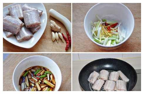 味道浓郁,咸鲜中带着香辣的酱汁——红烧带鱼