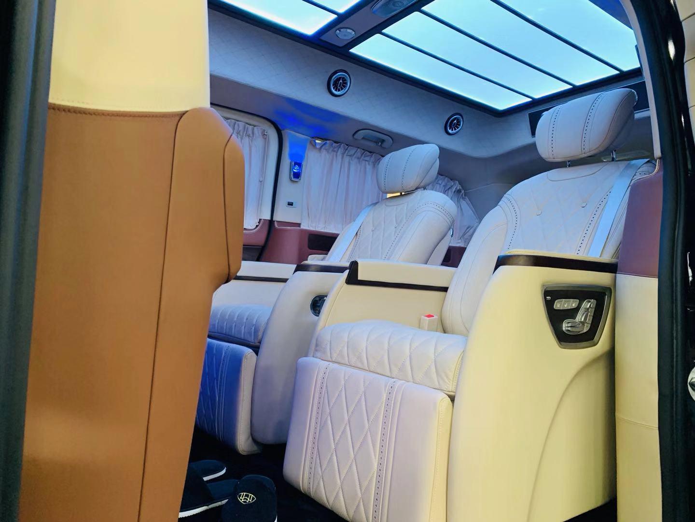 进口奔驰商务V250订制迈巴赫VST680全新而来
