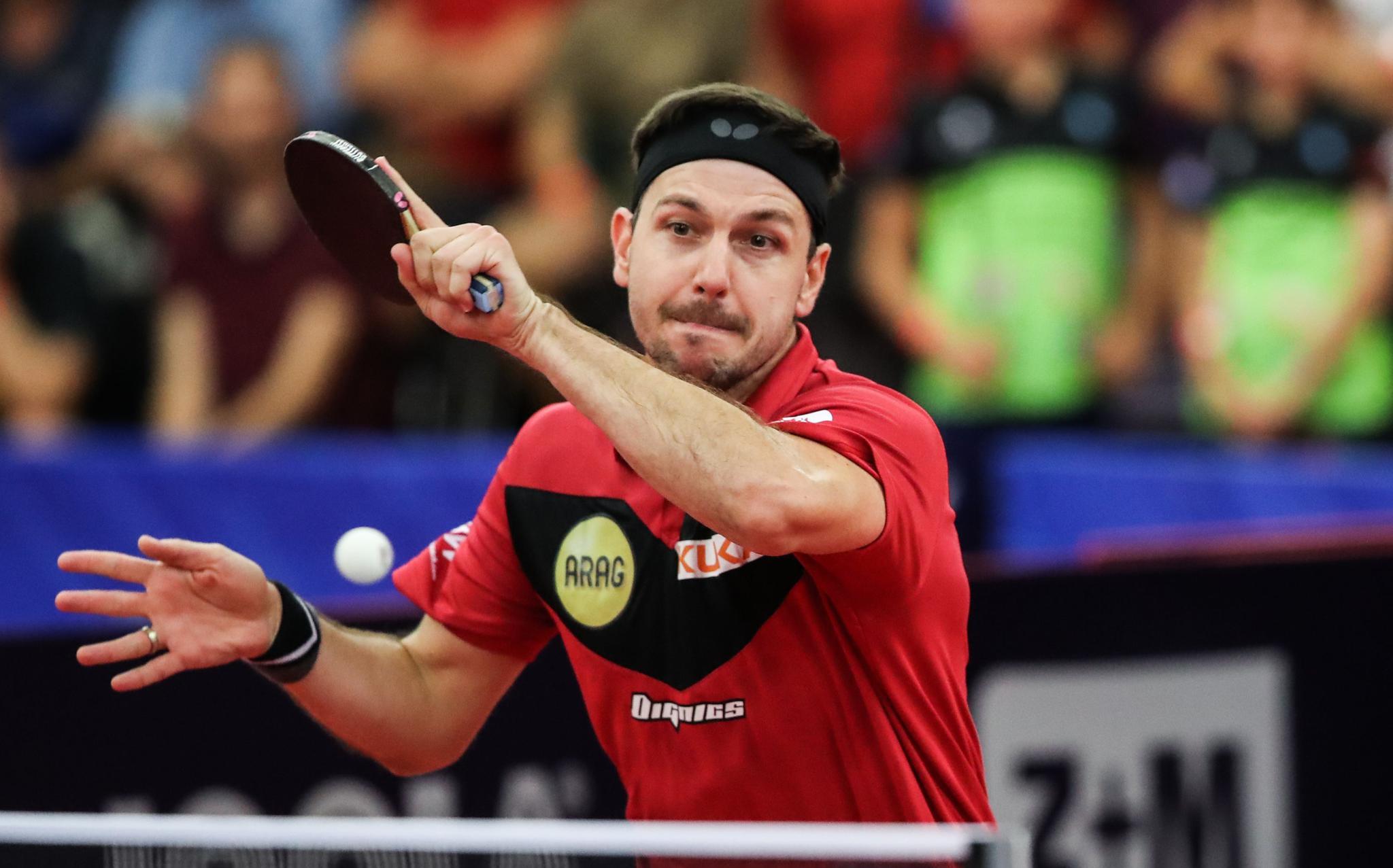 乒乓球——捷克公开赛:波尔晋级男单八强