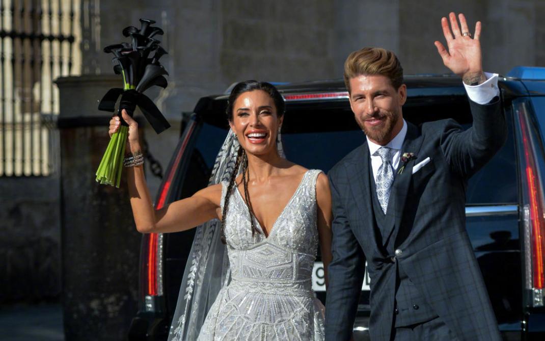 贝克汉姆、莫德里奇、纳瓦斯、莫拉塔等球星参加拉莫斯的婚礼