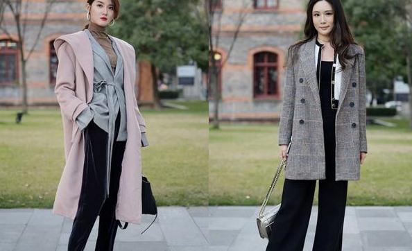 冬天女人流行这样穿外套,显瘦还显高,好看