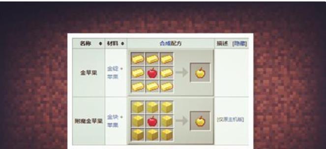 我的世界:金苹果和附魔金苹果有何区别?为何很少人使用它们?